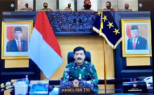 """Visi Indonesia Maju Sarat Tantangan, Panglima TNI: """"Siapkan SDM berkualitas dan kompetitif hadapi persaingan global"""""""