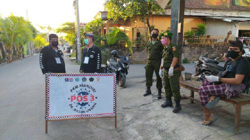 Putus Penyebaran Covid-19, Kelurahan Ubung Laksanakan PKM Mandiri