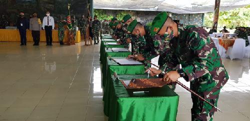 Menuju Wilayah Bebas Korupsi, Korem 174 Merauke Canangkan Zona Integritas Reformasi Birokrasi