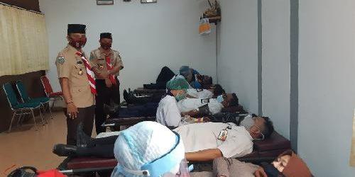 """Stok Darah PMI Menipis, Kwarda Bali Gelar Donor Darah """"Setetes Darah Untuk Kemanusiaan"""""""