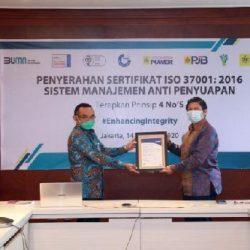 Konsisten Tetapkan GCG, PLN Raih Sertifikasi Anti Manajemen Penyuapan ISO 37001