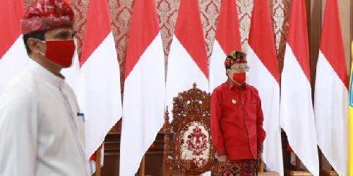 Lewat Virtual, Gubernur Koster Ikuti Peringatan Detik-Detik Proklamasi di Istana Merdeka