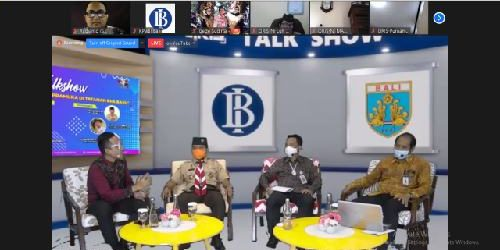 """Talkshow Kwarda Bali-BI tentang QRIS, KPw BI Bali: """"QRIS dukung Pramuka go-digital"""""""