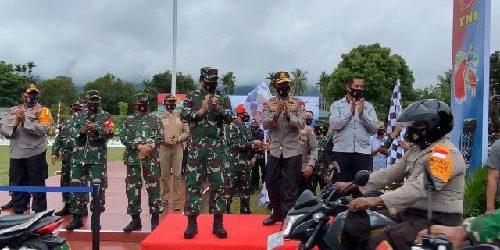 Satgas Pendisiplinan Protokol Kesehatan Covid-19 Provinsi Papua Siap Jalankan Inpres 6/2020