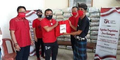 Gandeng DPN Peradah Indonesia, Penyuluhan Kebijakan Stimulus OJK bersama Rai Wirajaya Berlanjut di Kabupaten Bangli
