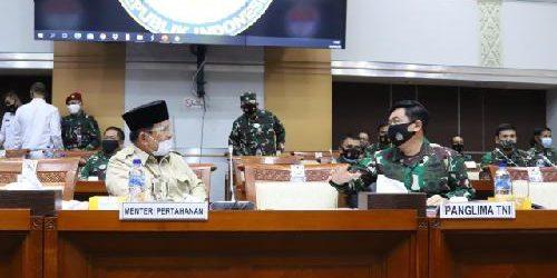 Rapat Kerja Komisi I DPR RI dengan Menhan dan Panglima TNI Berlangsung Tertutup