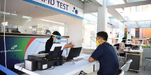 Angkasa Pura I Turunkan Biaya Rapid Test di 8 Bandara Jadi Rp.85.000