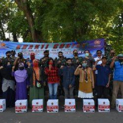 Kaskogartab II/Bandung Resmikan Musholla dan Bagikan Paket Sembako