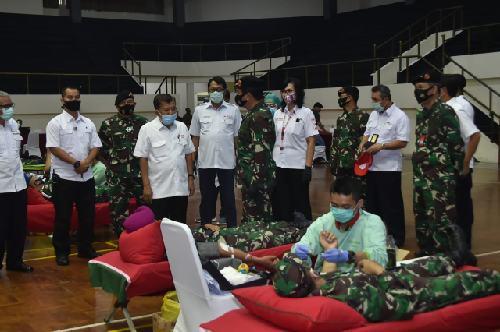 Stok Darah Menipis, TNI Penuhi dengan Aksi Sosial Donor Darah