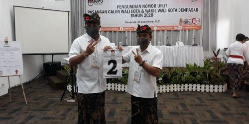 """Paket Amerta Nomor Urut 2, """"Victory"""" Menuju Denpasar BERSERI Berbudaya dan Berdaya Saing"""