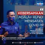"""Kasus Covid Layaknya Puncak Gunung Es, AHY: """"Perlu upaya konseptual, sistematis, dan nyata pulihkan ekonomi Indonesia"""""""