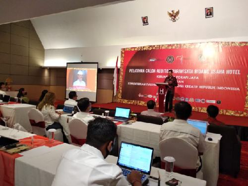 Tingkatkan Skill dan Kompetensi, Forapi Jaya dan Kemenparekraf RI Adakan Pelatihan Auditor Bidang Usaha Hotel