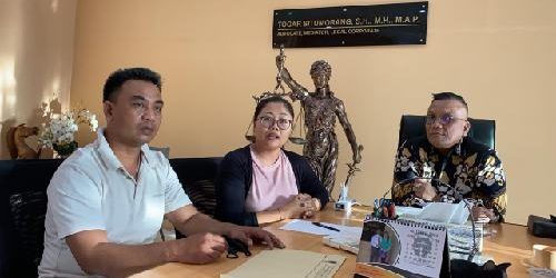Merasa Dipermainkan Oknum Aparat, Seorang Pria Minta Advokasi Hukum ke Law Firm Togar Situmorang