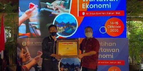 """Pelatihan Wartawan Ekonomi, KPw BI Bali: """"Media mitra strategis komunikasikan kebijakan Bank Indonesia"""""""