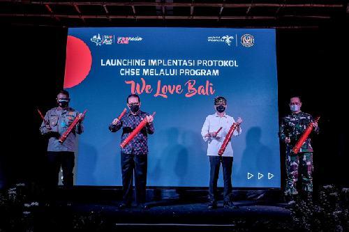 """Program """"We Love Bali"""" Diluncurkan, Berharap Akselerasi Pariwisata serta Pertumbuhan Ekonomi Bali"""