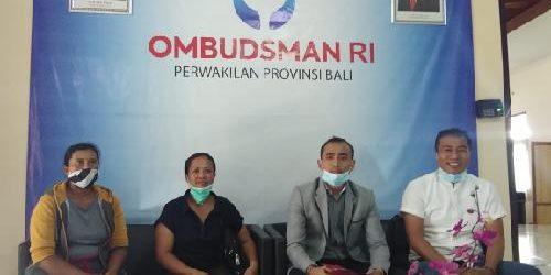Nama Dicoret dari Daftar Penerima Stimulus, Dua Warga Undisan Mengadu ke Ombudsman RI