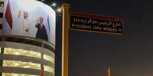 "Nama Jokowi Diabadikan Jadi Nama Jalan di UEA, Togar Situmorang: ""Refleksikan hubungan erat RI – UEA"""