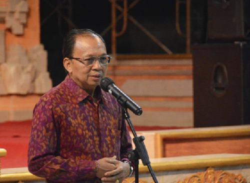 Dihadapan Wamen Kemen LHK, Gubernur Koster Sebut Target 30 Persen Luas Bali Jadi Kawasan Hijau