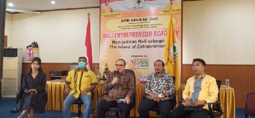 """Golkar Bali Luncurkan Program """"Bali Entrepreneur Academy"""" Wujudkan Misi Bali Sebagai The Island of Entrepreneurs"""
