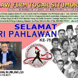 Hari Pahlawan 10 November 2020, Togar Situmorang Ajak Masyarakat Jadi Pejuang Lawan Covid-19