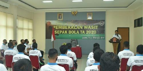 Kapusjaspermildas TNI: Kerjasama TNI dan PSSI Cetak Wasit Nasional dan Berstandar FIFA