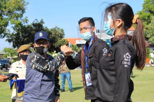"""GenBI Leadership Camp 2020 Gandeng Pangkalan TNI AL Denpasar, Trisno Nugroho: """"BI peran aktif tingkatkan kualitas SDM Indonesia"""""""
