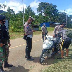 Razia Gabungan TNI-Polri di Perbatasan RI-PNG
