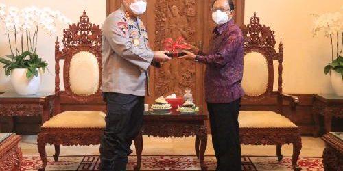 Irjen Petrus Golose Pamitan dengan Gubernur dan Wagub Bali
