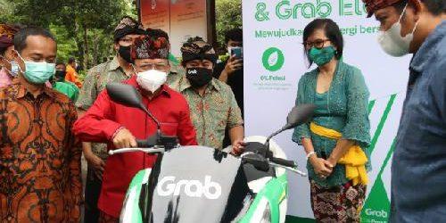 Bali Luncurkan SPBKLU, PLTS Fotovoltaik dan Transportasi Daring KBL