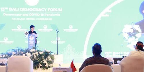 Menlu Retno Marsudi Buka BDF 2020, Jumlah Peserta Terbatas Hanya 50 Orang