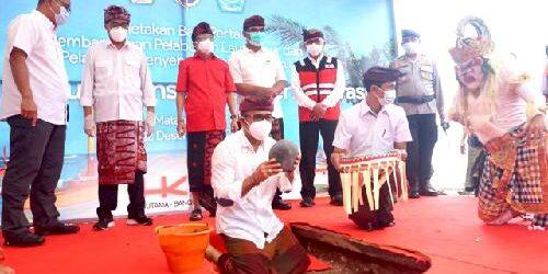 "Pembangunan Pelabuhan Segitiga Emas Dimulai, Wakil Walikota Jayanegara: ""Sinergikan kawasan pesisir jadi destinasi wisata"""