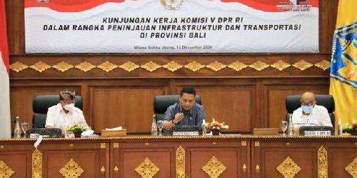 Gubernur Koster Mohon Dukungan ke Komisi V DPR RI Terkait Renovasi Stadion Kapten I Wayan Dipta