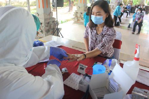 Peringati Hari Ibu, TP PKK Bali Gelar Rapid Test Gratis