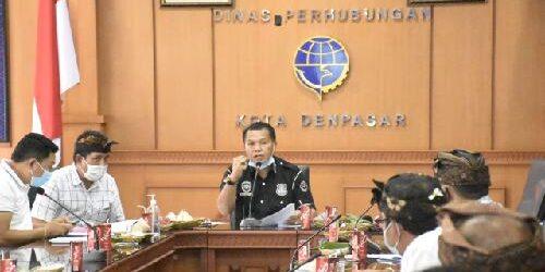 Antisipasi Nataru, Dishub Denpasar Bentuk Posko Terpadu Disiplin Prokes