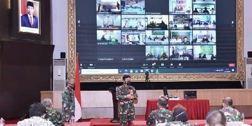 Panglima TNI: TNI Ikut Aktif Siapkan SDM Pelaksanaan Vaksinasi Covid-19