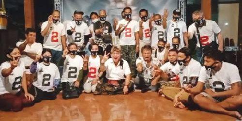 Komunitas Tuli Bali Bersatu Siap Menangkan Paslon Amerta