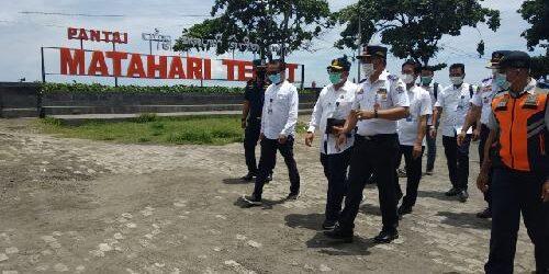 Irjen Kemenhub Pasek Suardika Pantau Penerapan Prokes di Pelabuhan Sanur