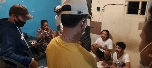 7 Orang Diduga Pesta Miras Terjaring Yustisi PPKM Desa Peguyangan Kangin
