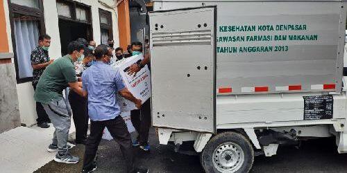 Vaksin Covid-19 Masuk Denpasar, 24.280 Vial Vaksin Siap Didistribusikan