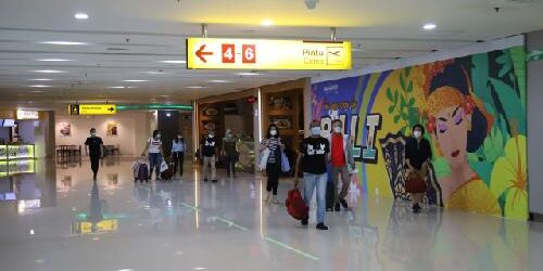 """Zero Accident dan Incident"", Posko Nataru 2020-2021 Bandara Ngurah Rai Layani 295 Ribu Lebih Penumpang"