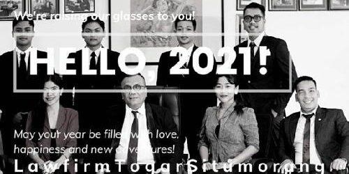 """Law Firm Togar Situmorang Ucapkan Selamat Tahun Baru 2021: """"Ini kesempatan kita menulis cerita indah"""""""