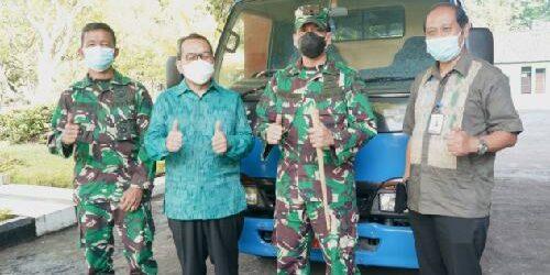 Korem 163/Wira Satya Terima Hibah Minibus dari KPwBI Bali