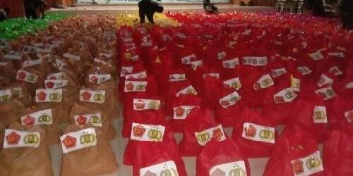 Korem 174 Merauke Distribusikan 2000 Paket Sembako Bantuan Panglima TNI dan Kapolri