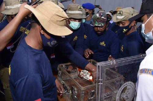 Panglima TNI: Lokasi Penemuan FDR Pesawat Sriwijaya Air SJ-182 Sesuai Perkiraan