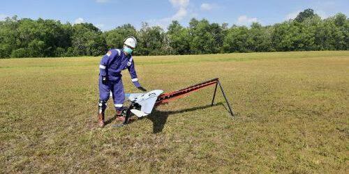 Drone untuk Pengawasan Pipa Minyak dan Tambang Minyak Ilegal