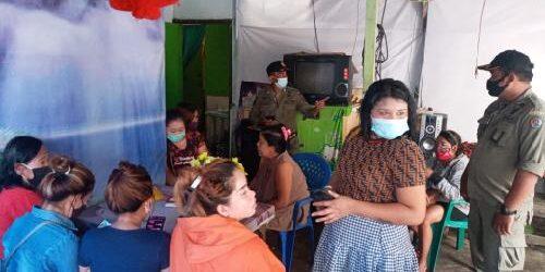 Strategi Menyamar Sukses, Satpol PP Denpasar Amankan 18 PSK di Kawasan Lumintang
