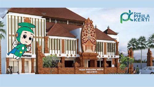 """STIKI Indonesia Rebranding Logo Pasar Rakyat Phula Kerti """"Phuke"""""""