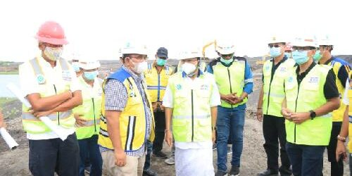 Tinjau Pembangunan Normalisasi' Tukad Unda, Gubernur Koster Pastikan Rampung 2022
