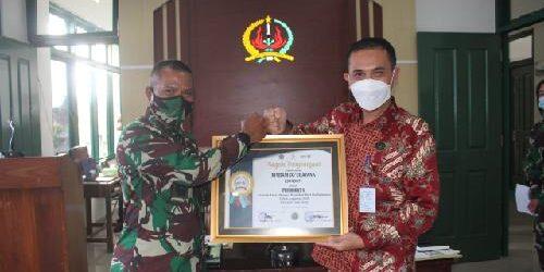 "Ketiga Kalinya, Rindam IX/Udayana Raih ""KPPN Singaraja Awards Semester II Tahun 2020"""