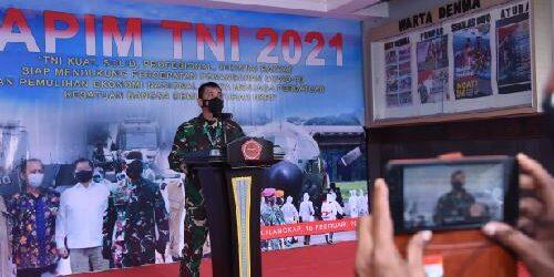 Kapuspen TNI: TNI Siapkan Seluruh Potensi dan Kemampuan yang Dimiliki